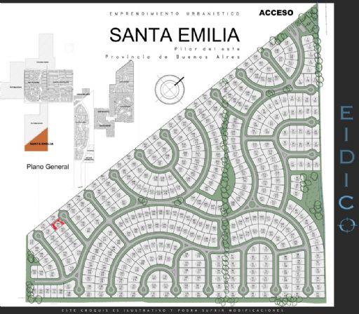 Santa Emilia, Lote 184
