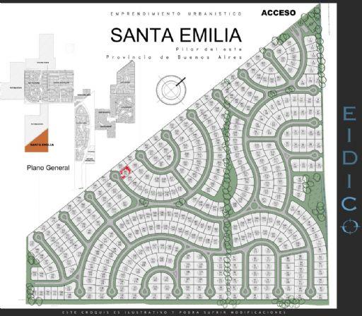 Santa Emilia, Lote 207