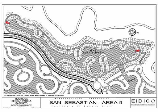 Area 9 Nuestra Señora de la Paz, Lote 222