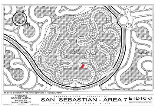 Area 7 Nuestra Señora de Lujan, Lote 18