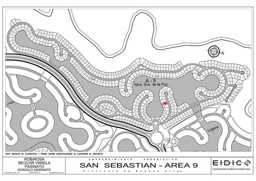 Area 9 Nuestra Señora de la Paz, Lote 255