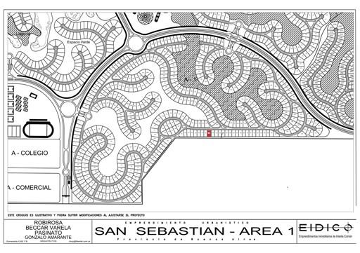 Area 1 Nuestra Señora del pilar, Lote 179